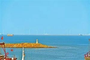桂山海上风电场项目已完成工程总体进度56% 首台风机准备并网调试