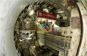 全球首条特高压过江隧道工程掘进过半