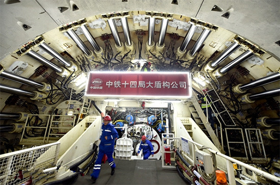常熟修建世界首条特高压过江隧道掘进长度已过半