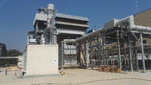 缅甸直通燃机联合循环发电项目1号燃机点火一次成功