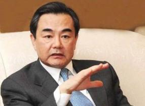 王毅会见缅甸前总统吴登盛