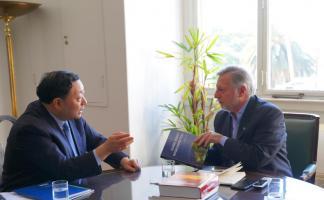 刘振亚出访智利、阿根廷、巴西三国 推动南美地区能源互联网发展
