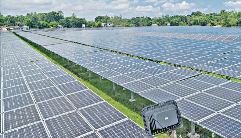 孟加拉国电网太阳能发电量增长