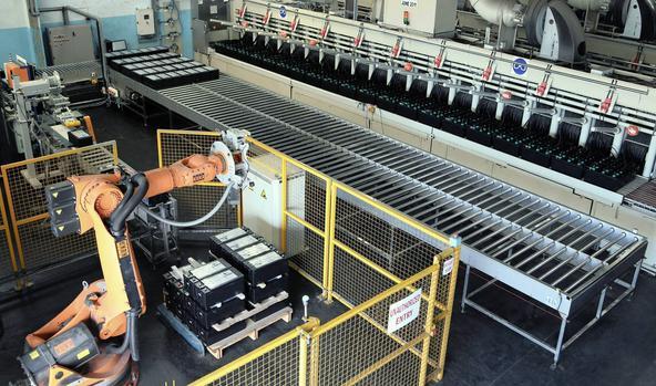 梅泰尔斯洛文尼亚电池制造商