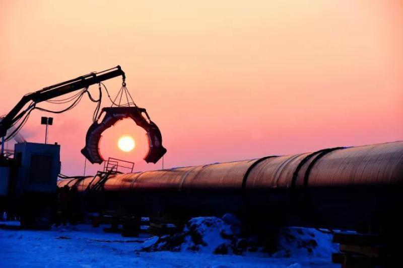 非法连接天然气和建筑工程是危险的