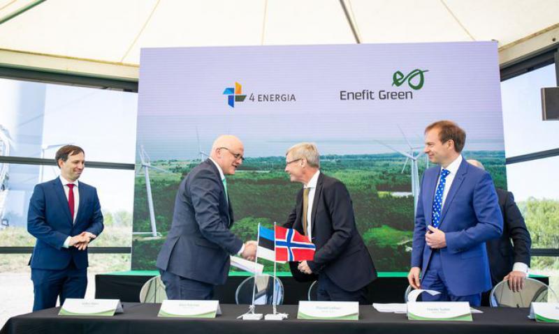 伟大的图形:与欧洲的25个类似交易相比,爱沙尼亚能源公司为四大能源公司支付了多少费用?