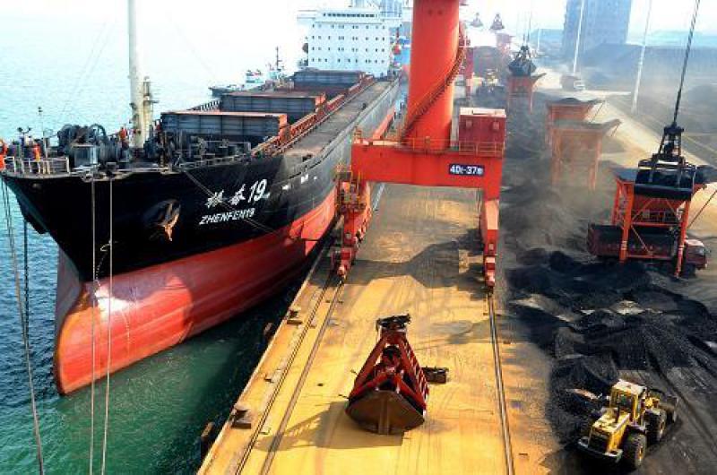 5月份全国进口煤炭2233.3万吨 同比增长0.64%