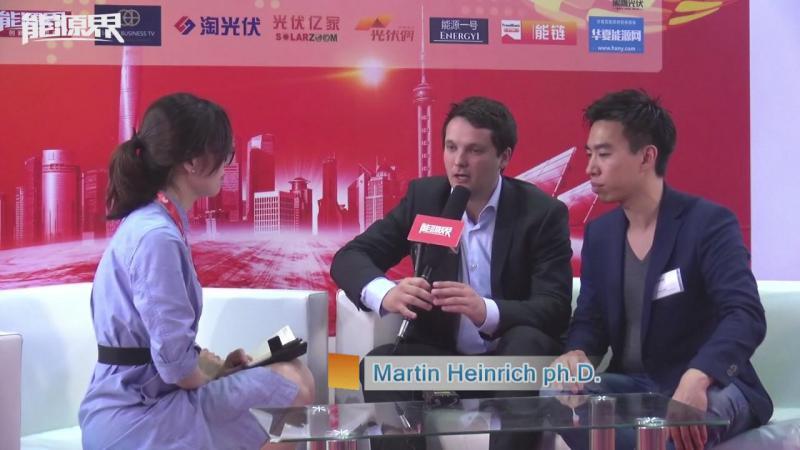 「访谈」Fraunhofer ISE  Martin Heinrich ph.D.