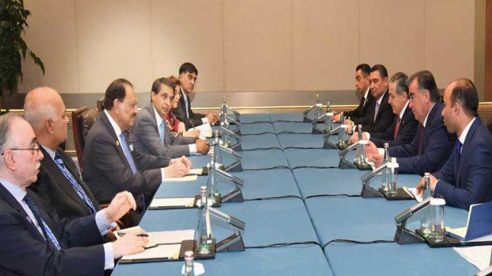 巴基斯坦塔吉克斯坦同意大幅增加双边贸易