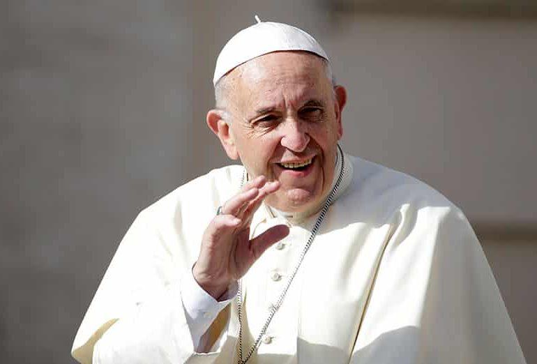 教宗指出,世界顶级石油高管必须转换为清洁燃料
