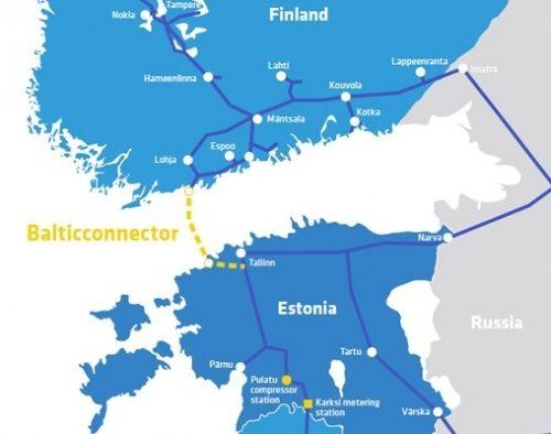 芬兰开始建造一条通往爱沙尼亚的天然气管道