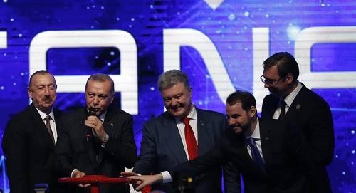 土耳其开放TANAP将里海天然气运往欧洲