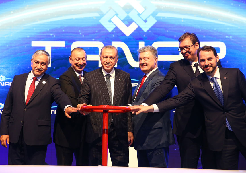 随着土耳其开启TANAP,欧洲开辟新的能源之路