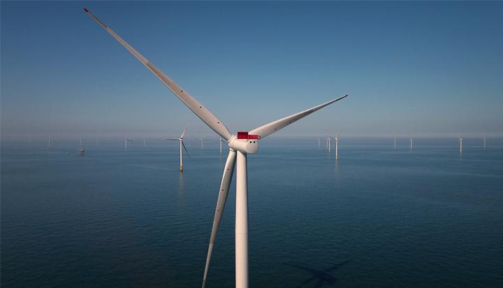 号称全球第五大的海上风电场已在英国启动