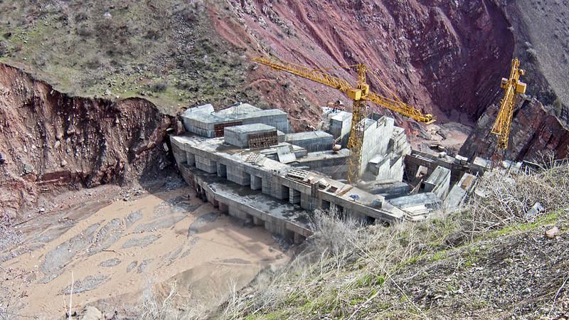 世行将不会资助塔吉克斯坦的Rogun水电站建设