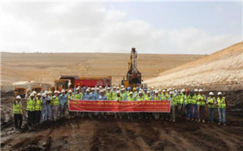 中设集团巴基斯坦塔尔煤田项目开始采煤