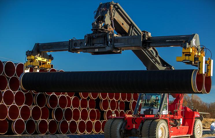 俄罗斯天然气工业股份公司及其合作伙伴投资4.8亿欧元在Nord Stream 2建设