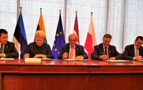 波罗的海电网同步协议在布鲁塞尔签署
