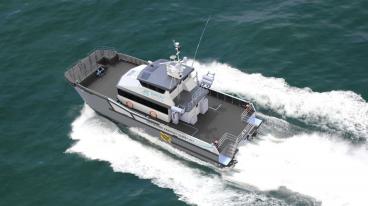 Seacat Services支持Beatrice海上风电场的O&M工作,有两艘船