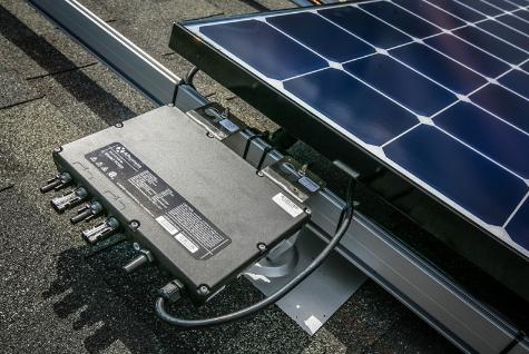 最强双核微逆YC600项目分享——美国西雅图7.7kW户用光伏系统