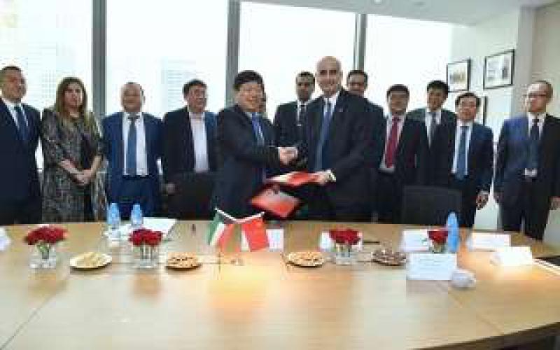 科威特石油公司(KPC)周二与中国山东炼油化工集团签署了合作协议,以销售科威特原油