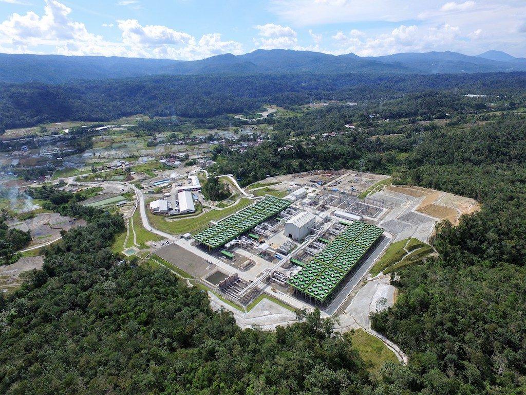 Sarulla地热发电厂由印度尼西亚总统Joko Widodo宣誓就职