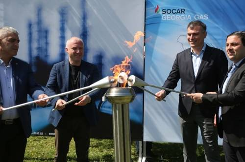 SOCAR投入资金发展格鲁吉亚的天然气管道网络