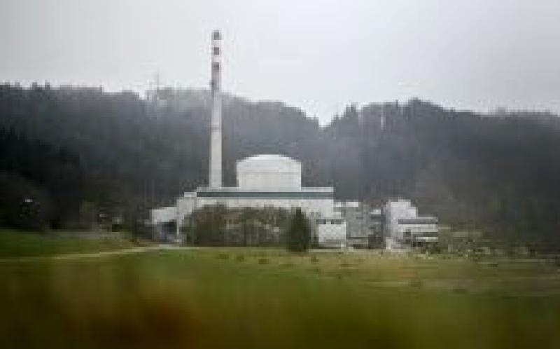 瑞士核电站被迫减产,因为河水变暖使反应堆冷却