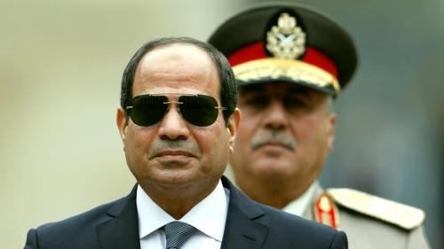 埃及的Sisi在州发展中开设了发电站
