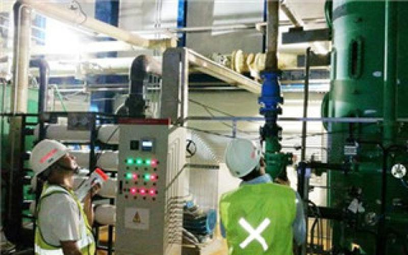 庞卡兰苏苏项目首次成功制出除盐水