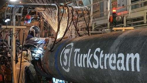 TurkStream天然气管道项目的第二条线已完成超过45%