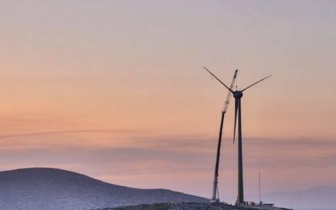 希腊第一家风力涡轮机工厂开始投产