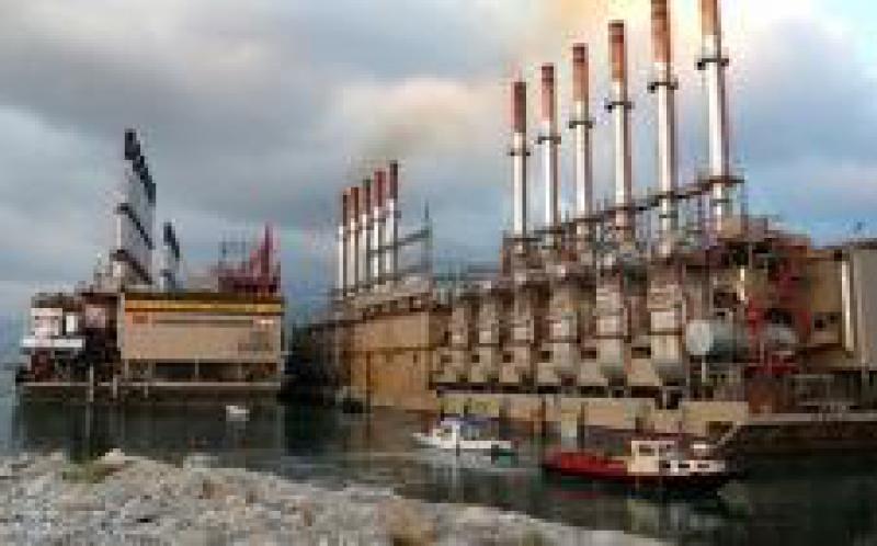 土耳其供电驳船开始发电