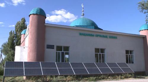 第一座太阳能电池清真寺出现在东哈萨克斯坦地区