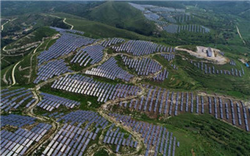 冀北光伏发电统调装机容量占比超16%