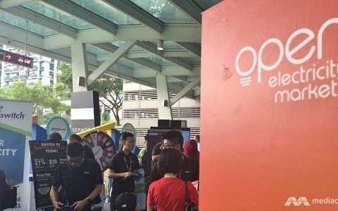 开放电力市场将从2018年第四季度延伸至新加坡其他地区