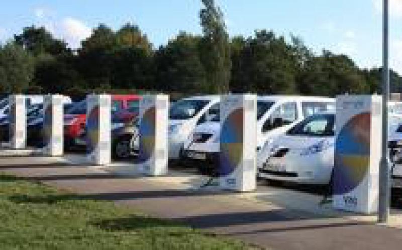 """车辆到电网可以是电力网络的""""车轮容量"""""""