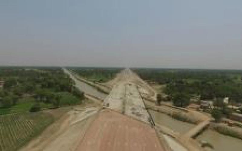 巴基斯坦PKM项目提前40天完成桥梁施工