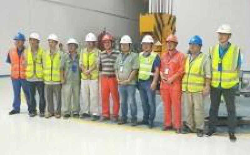 老挝南塔河水电站首台机组一次性启动成功