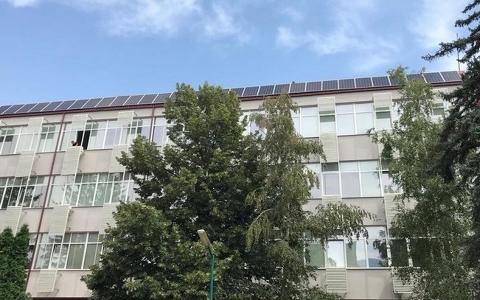 FEIT在马其顿的第一所大学学校安装屋顶光伏系统