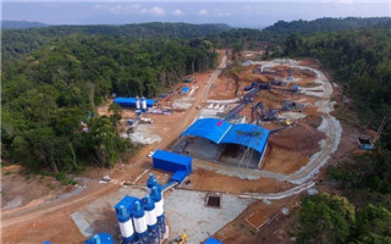 老挝南公1水电站导流洞高边墙滑模成功实施