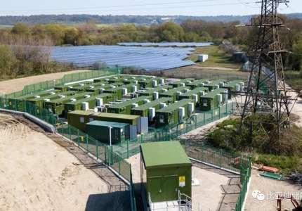 欧洲最大单体储能项目投运并接受英国国网调度