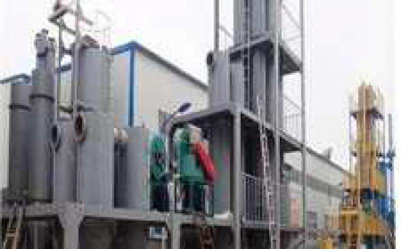 全国首个生物质气化耦合发电项目完成试运