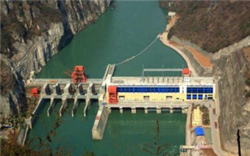 沙坪二级水电站全部机组并网发电