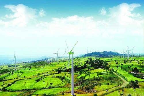 中国电建:埃塞俄比亚阿达玛风电场
