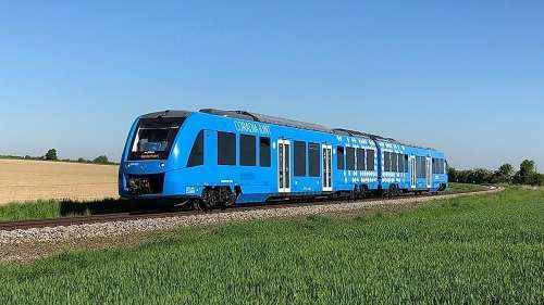 世界上第一辆氢动力火车在德国上市