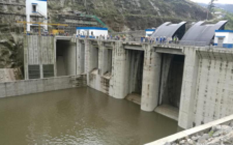 厄瓜多尔德尔西水电站三台机组通过72小时试运行