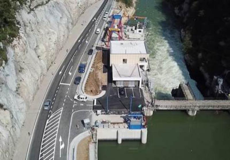电力公司ERS以2150万欧元的投资开设8.76兆瓦的水电站Bočac2