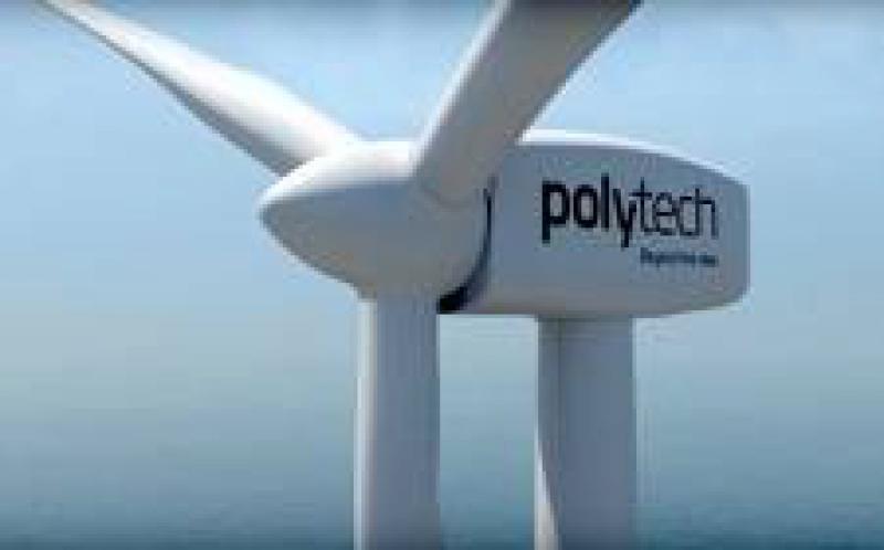 丹麦公司PolyTech认为其聚氨酯外壳可以防止风机叶片降解