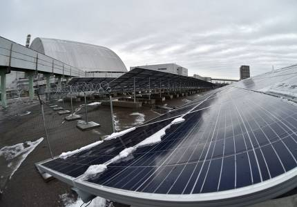 切尔诺贝利有一座新的发电厂,但这次它是太阳能发电厂